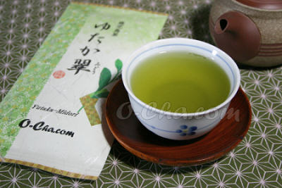 fukamushi deep steamed green tea