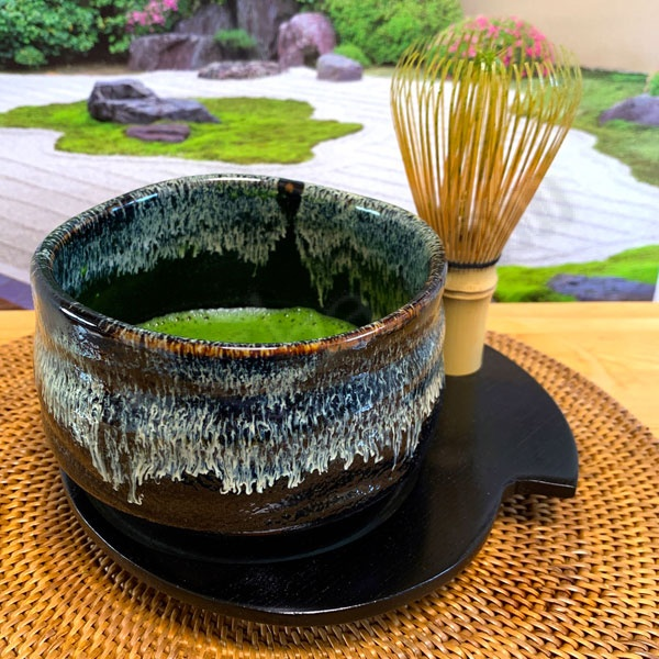 matcha bowl coaster