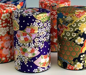 Washi Green Tea Canister
