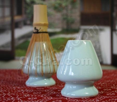Ceramic Tea Whisk Keeper